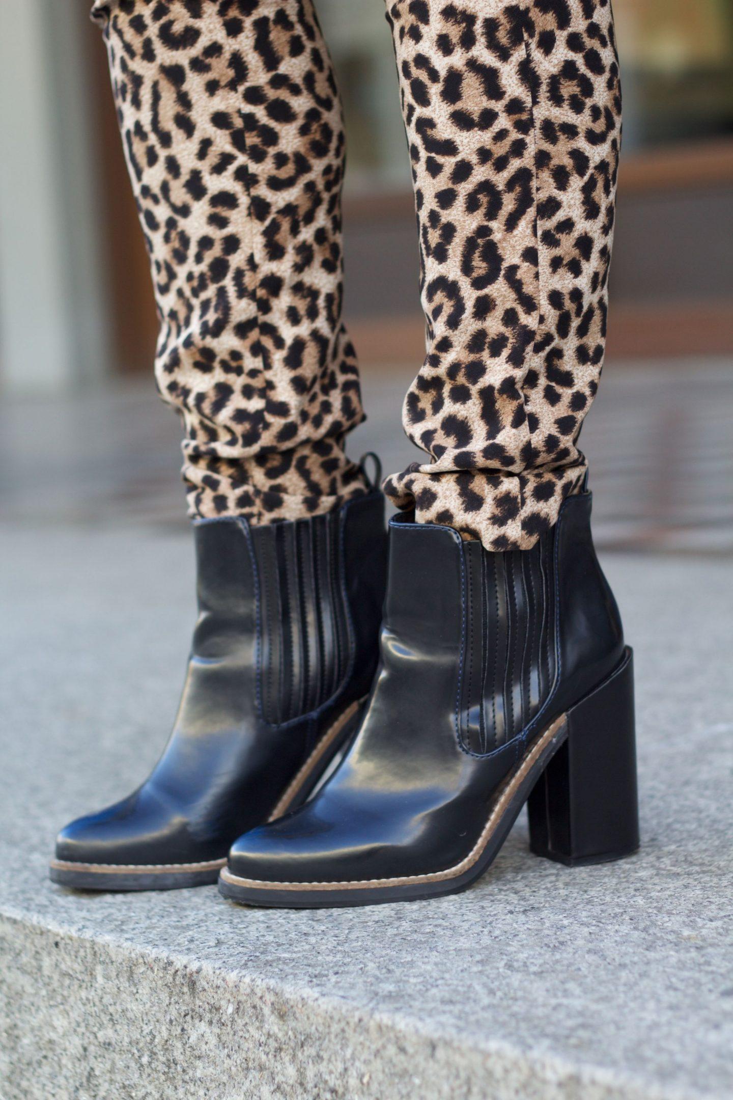 leo pants winter streetstyle fashion blog
