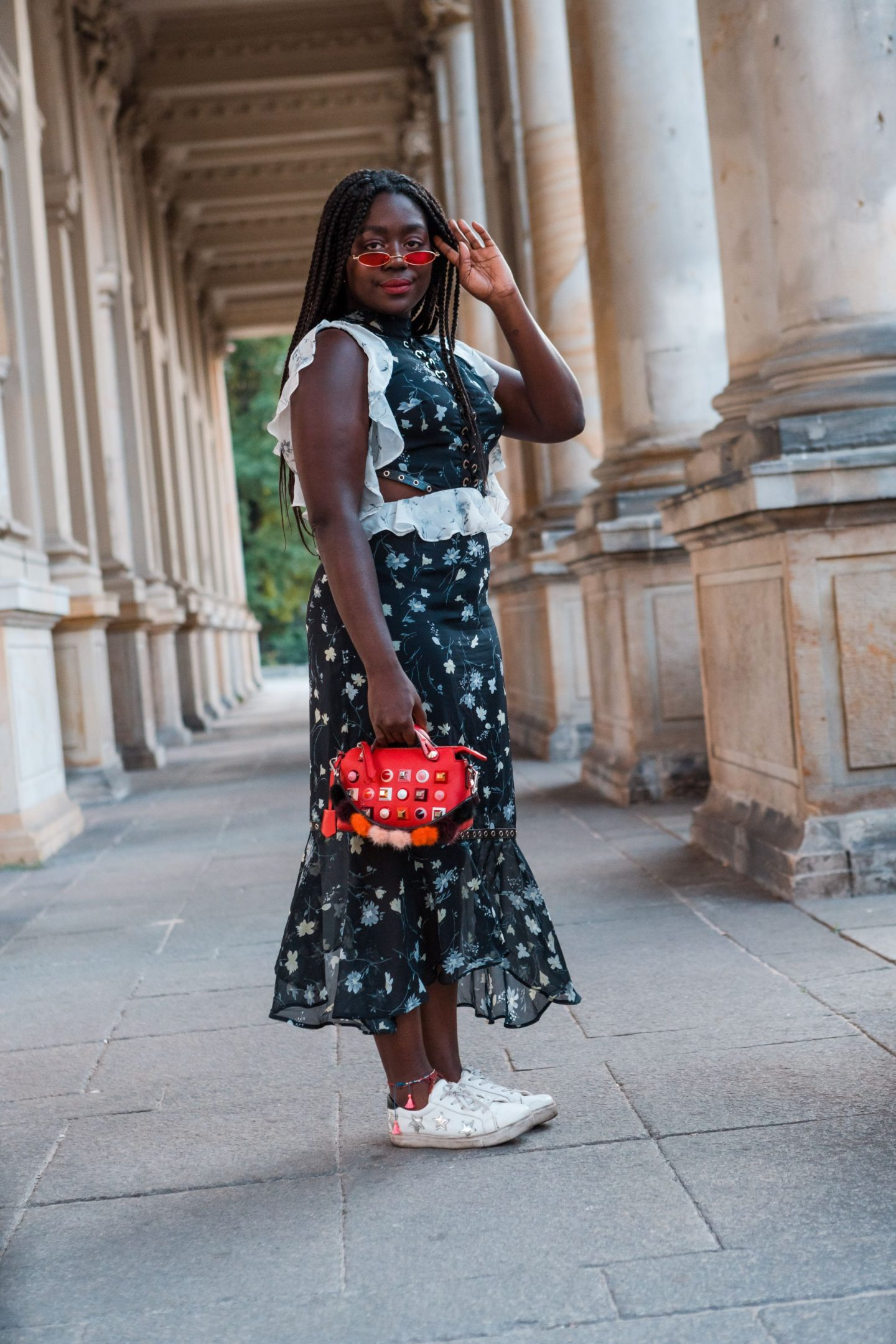 Fashion Week Streetstyle Lois Opoku Fendi