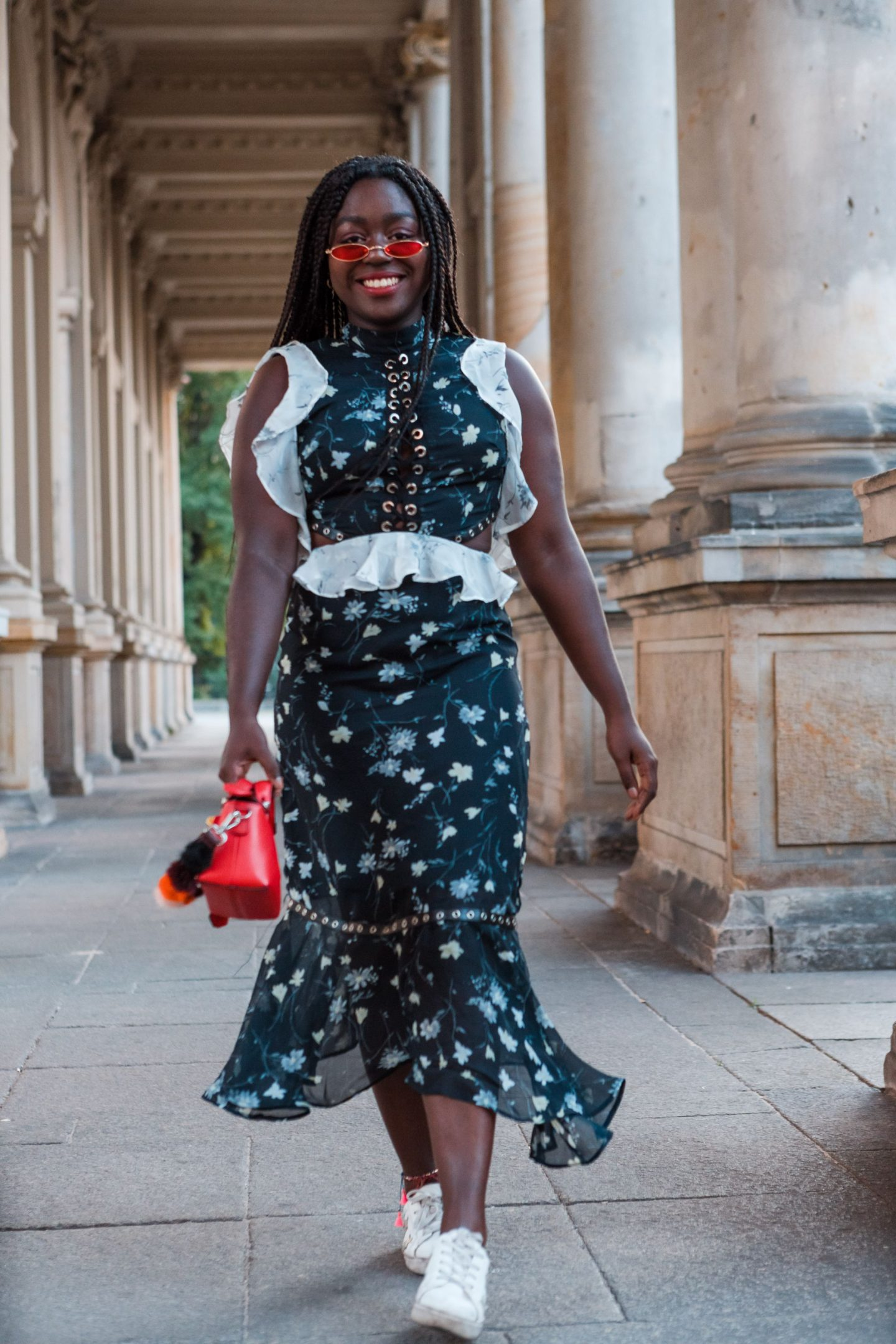 Fendi By The Way Bag Street style Fashion Week Lois Opoku Style