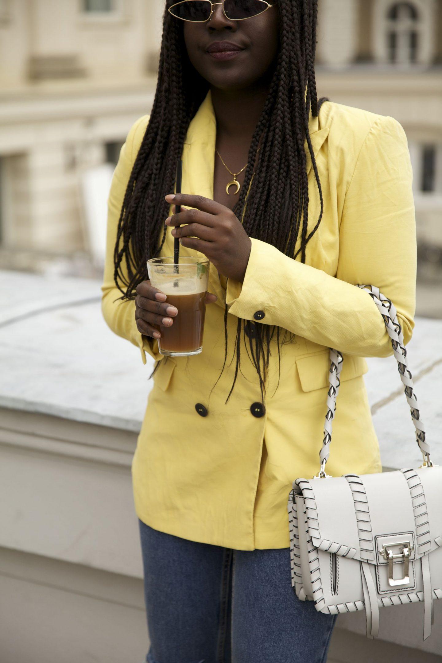 Lois Opoku proenza schouler hava whipstitch bag street style Nespresso lisforlois_2