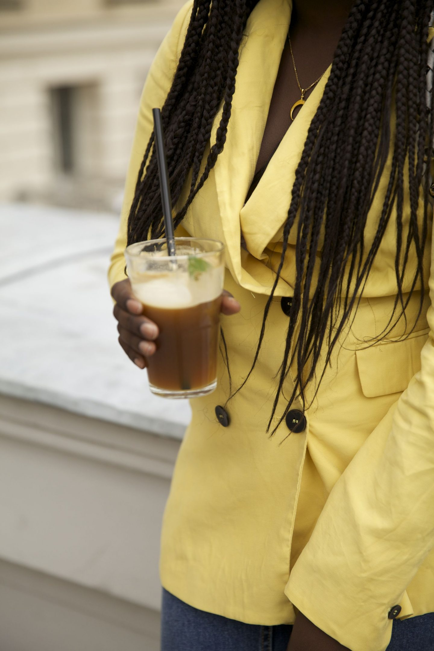 Lois Opoku proenza schouler hava whipstitch bag street style Nespresso lisforlois_3