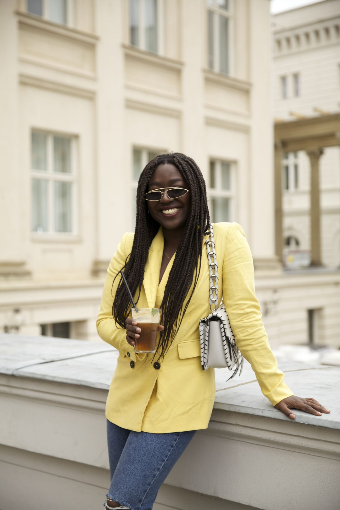 Lois Opoku proenza schouler hava whipstitch bag street style Nespresso lisforlois_4