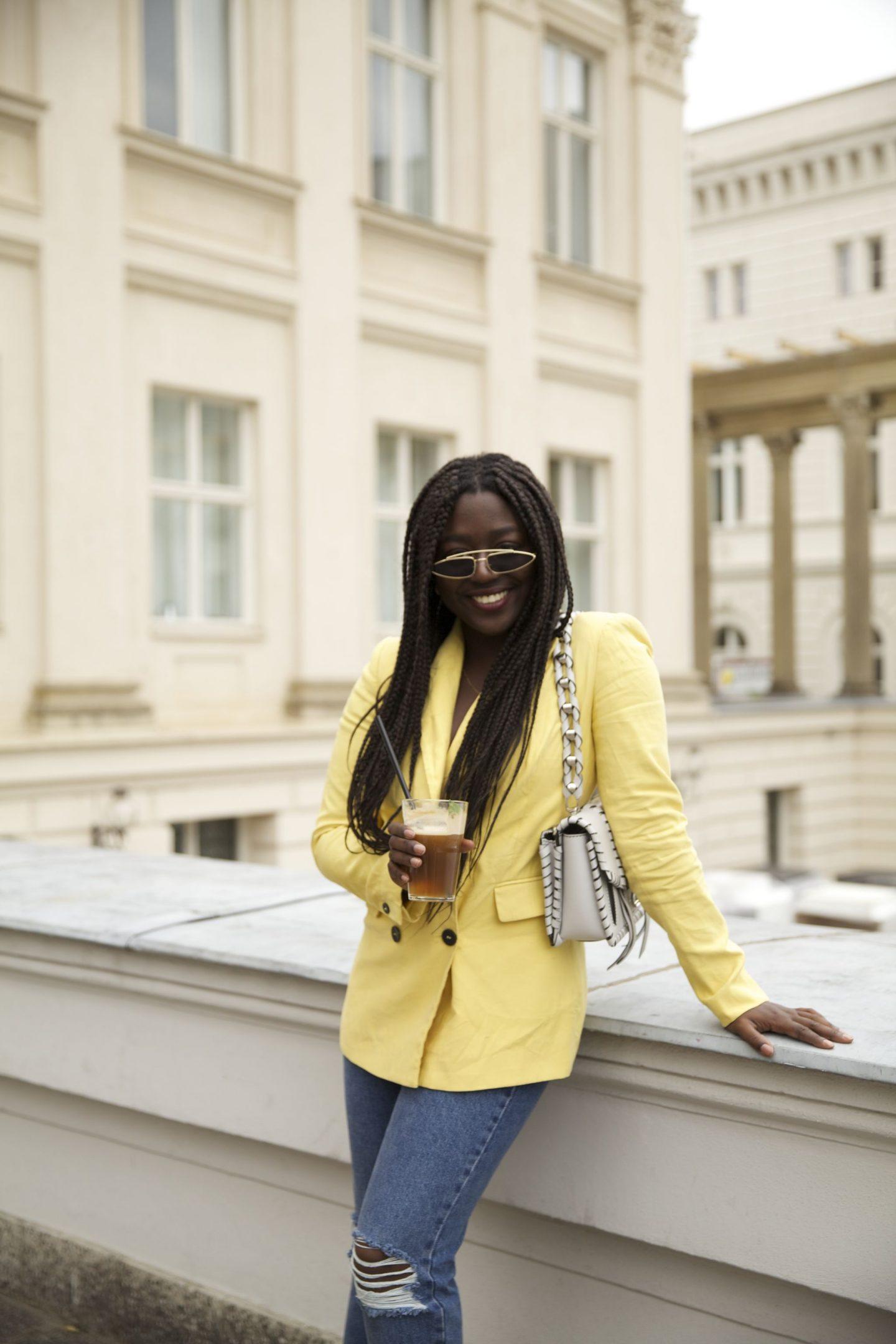 Lois Opoku proenza schouler hava whipstitch bag street style Nespresso lisforlois_6
