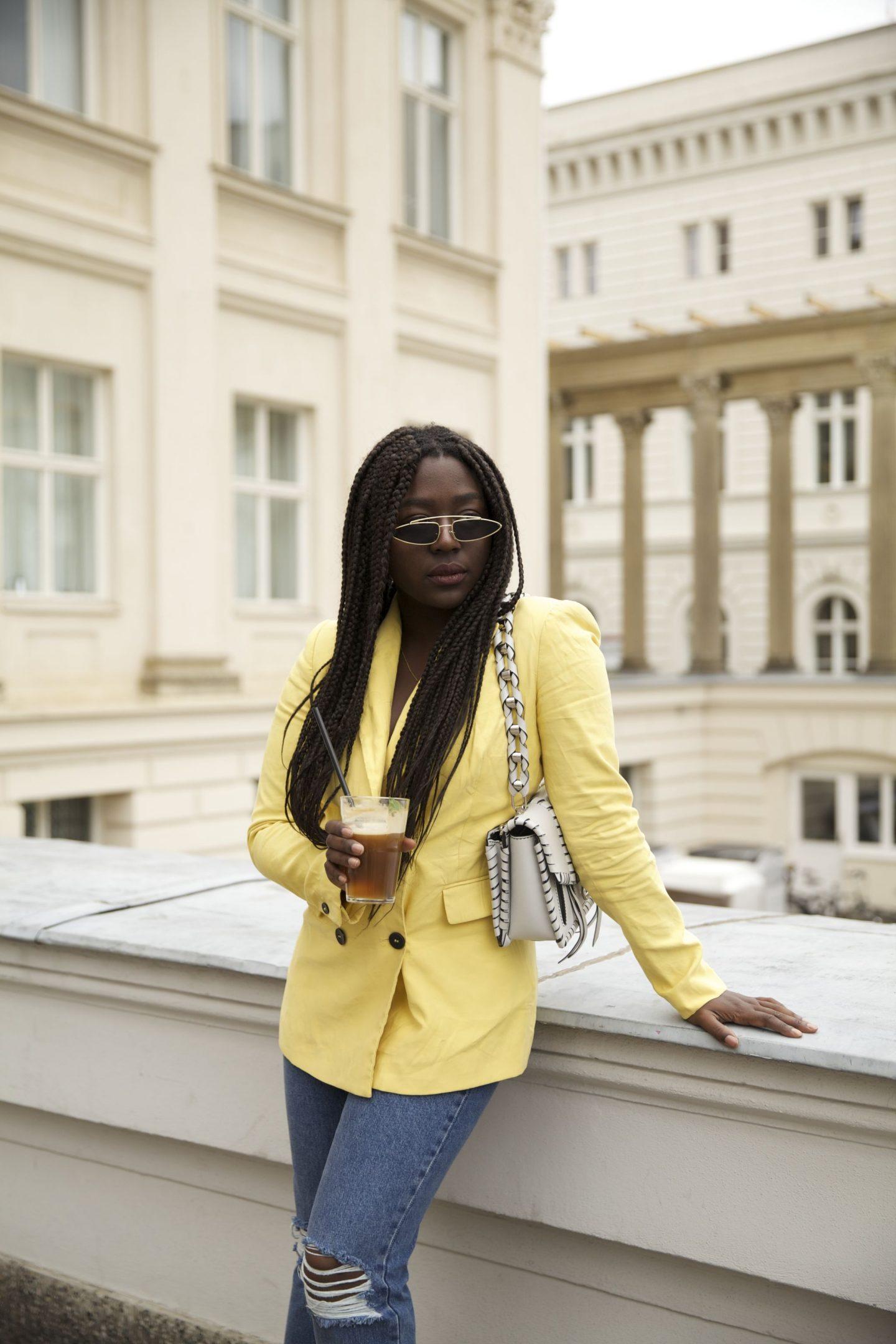 Lois Opoku proenza schouler hava whipstitch bag street style Nespresso lisforlois_7