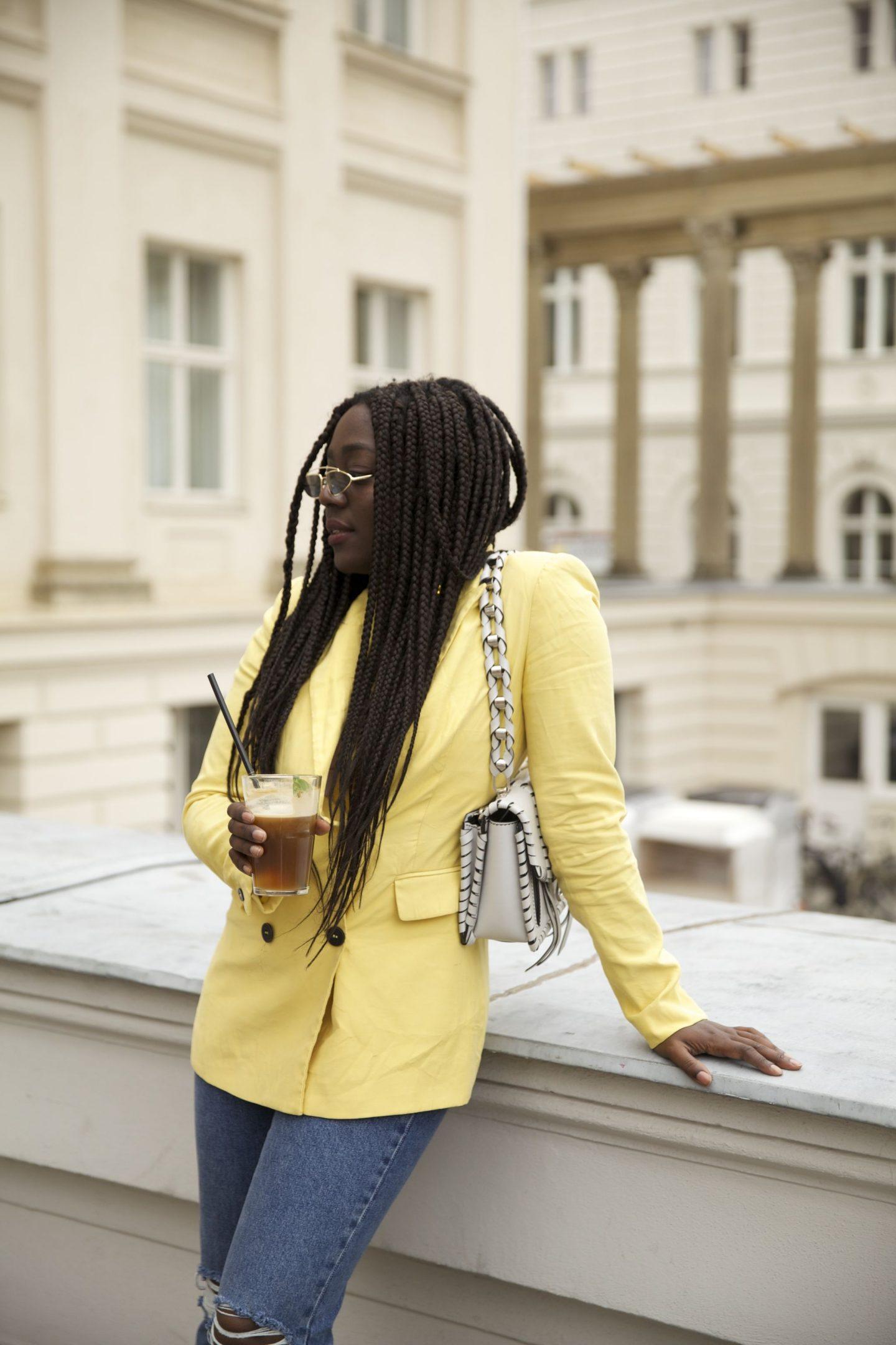 Lois Opoku proenza schouler hava whipstitch bag street style Nespresso lisforlois_9