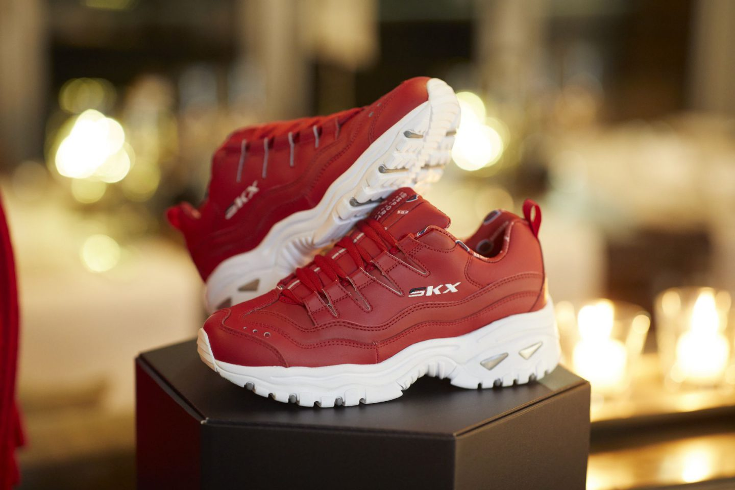 Instyle meets Skechers rot