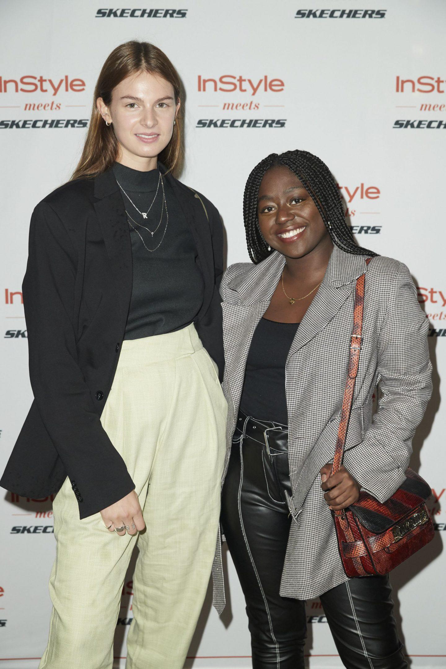 Instyle meets Skechers Jacqueline Zelwis und Lois Opoku