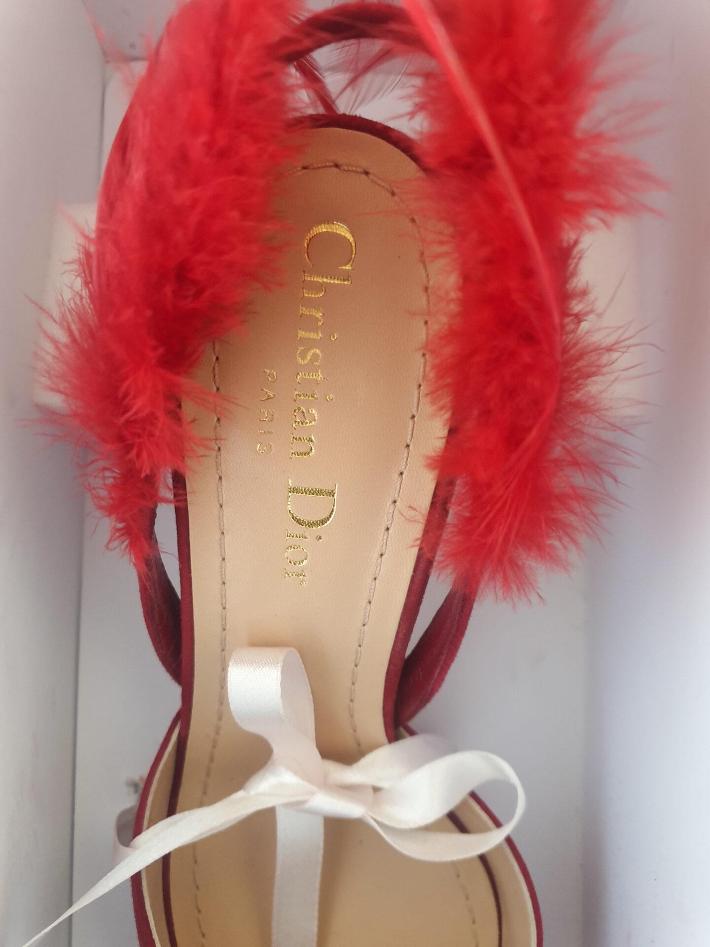 Dior Ethnie sandals details
