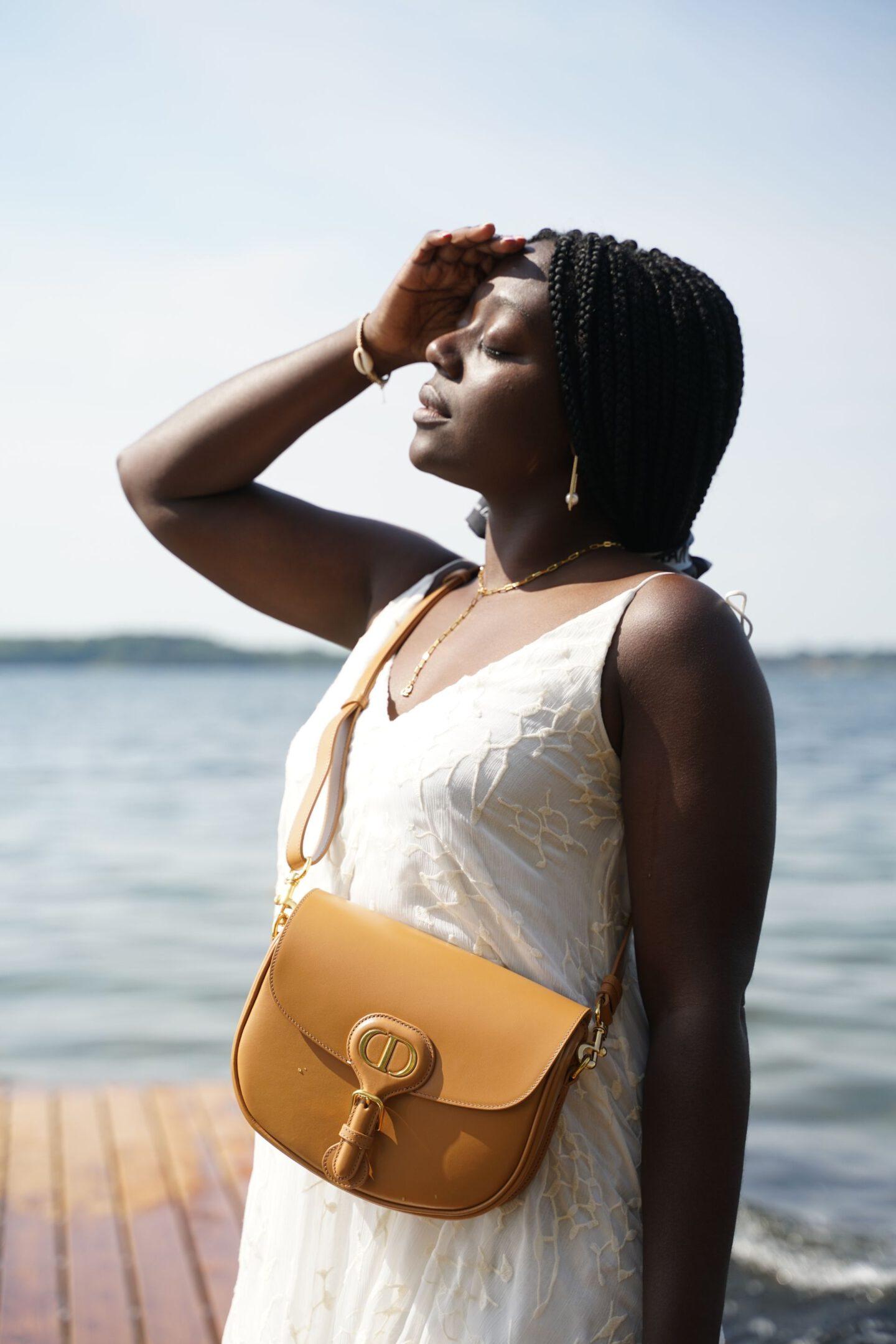 dior bobby bag dior at sea x Lois Opoku