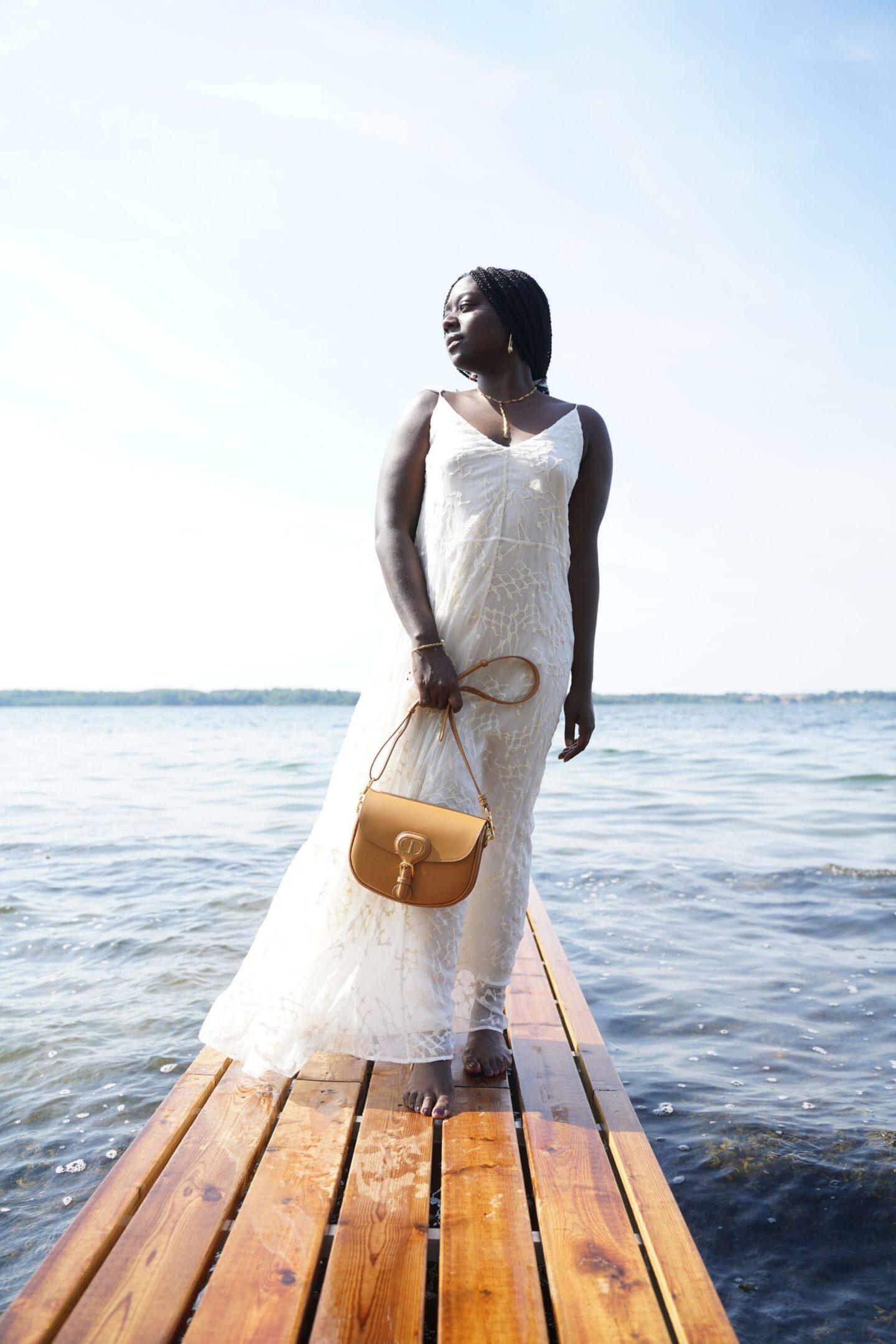 dior bobby bag x Lois Opoku